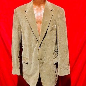 Stafford Mens 44L Corduroy Sport Coat